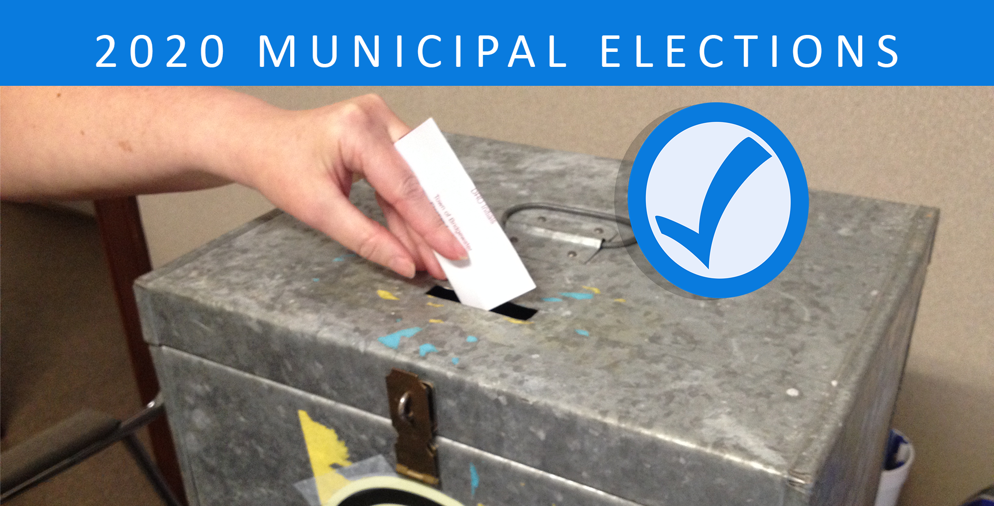 2020 Municipal Election page banner 5