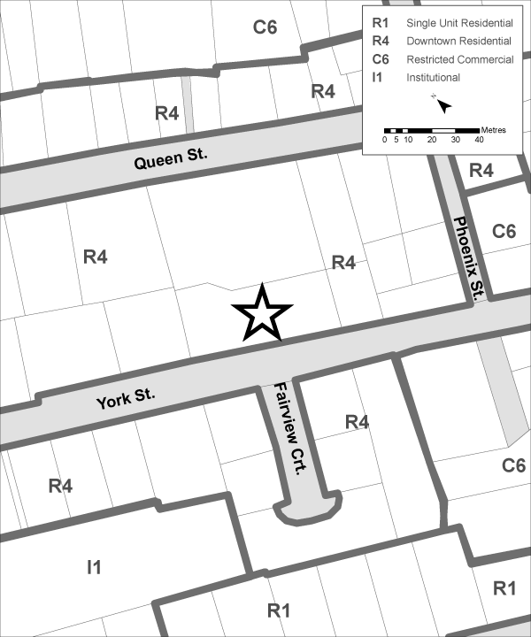 58 York Street Zoning Map Current Copy