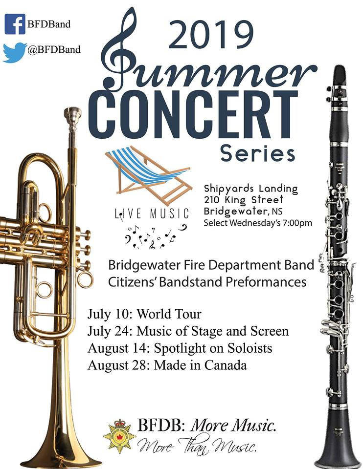 BFD Band Summer Concert Series 2019