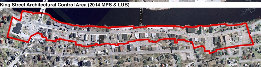 King St Arch Control Map 2014 LUB