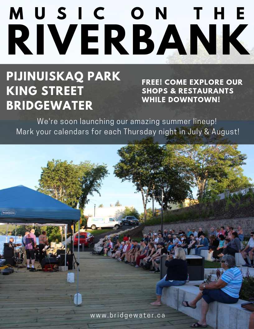 Music on the Riverbank 2019 Promo Poster